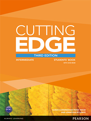 Cutting edge student book + dvd-rom (upper-intermediate) by.