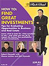 Rich Dad's How To Find Great Investments