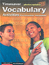 Timesaver Vocabulary Activities